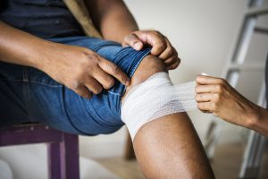 Skutki kontuzji kolana